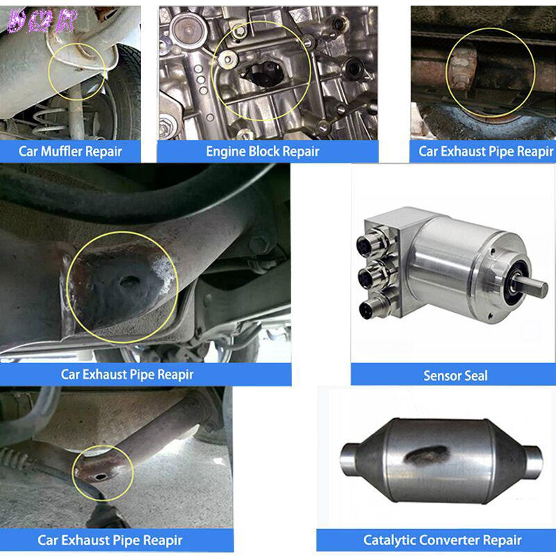 Exhaust Pipe Repair Glue High Temperature Sealant Durable