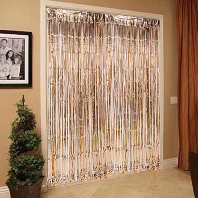 COD Foil Curtain 2meter/LongX1meter/Width