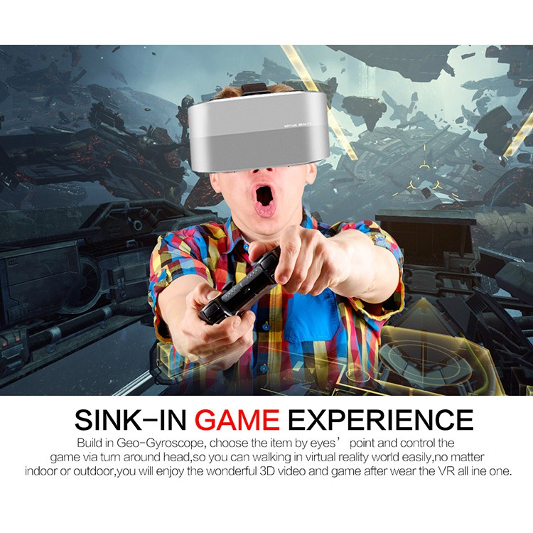 2019 New 3D VR Glasses Virtual Reality Allwinner All-in-One