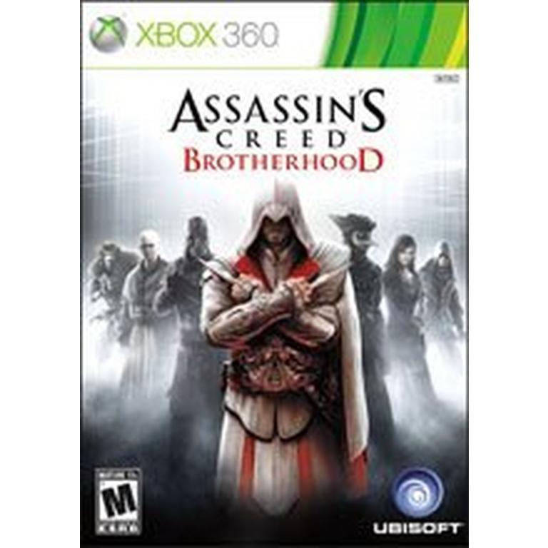 Xbox 360 Assassins Creed Brotherhood Ntsc Physical Disk Used