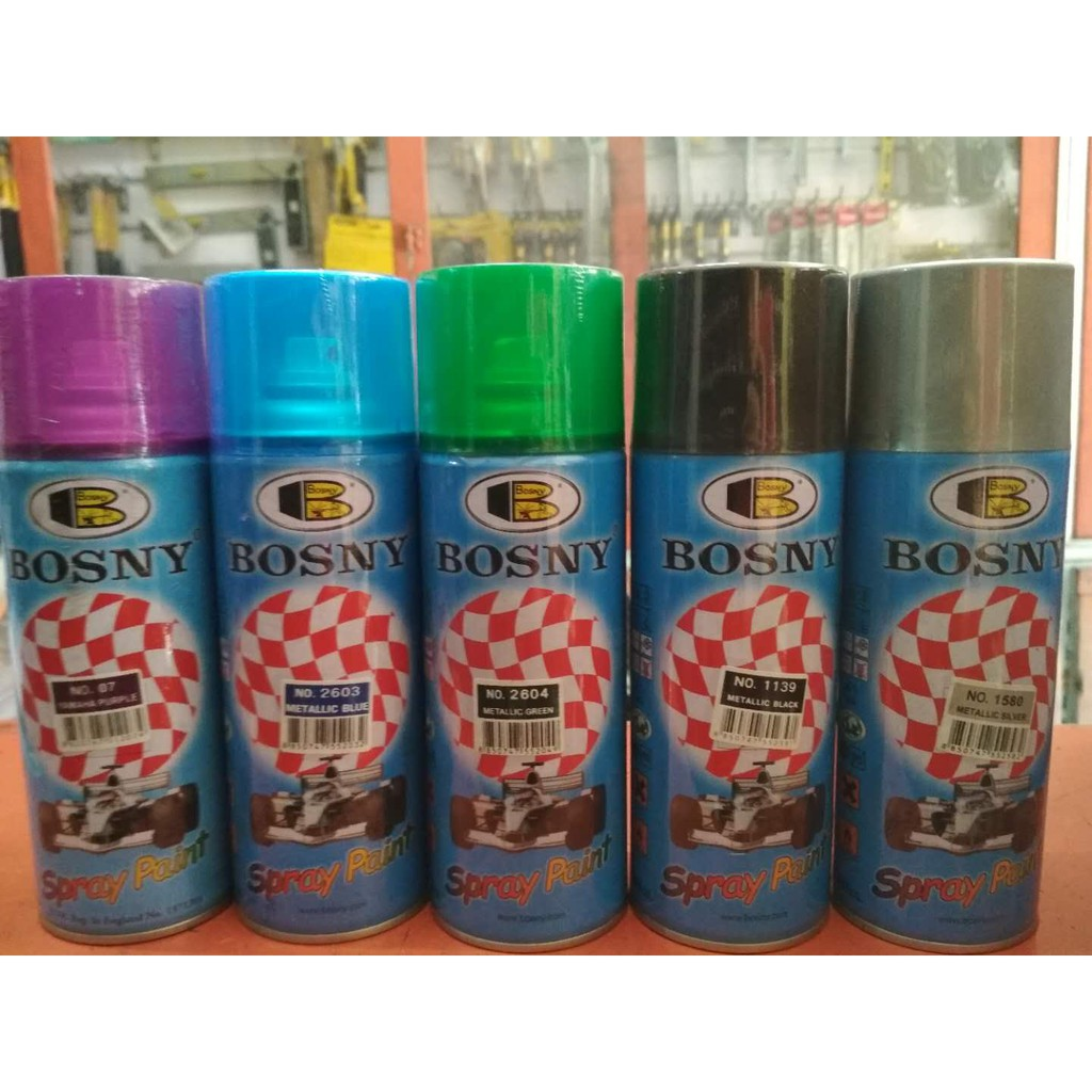 Bosny Metallic Spray Paint | Shopee Philippines