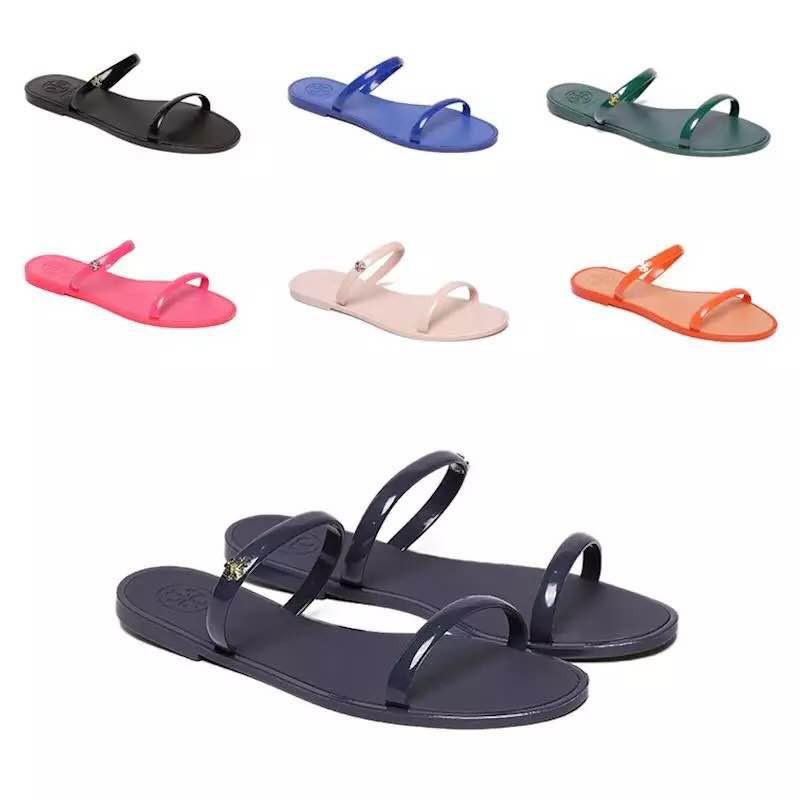 Shinny Up Flexible add Sandals JyLadies Korean Size Jelly Flat tdBorCshQx