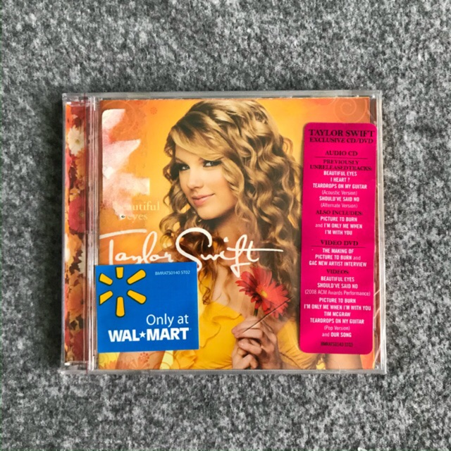 Beautiful Eyes Taylor Swift Cd And Dvd Ep Shopee Philippines