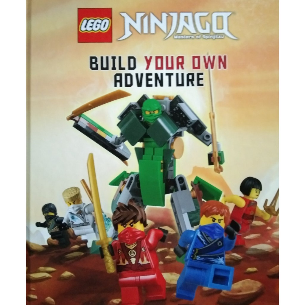 Ninjago Build Your Own Adventure (5 chapters)