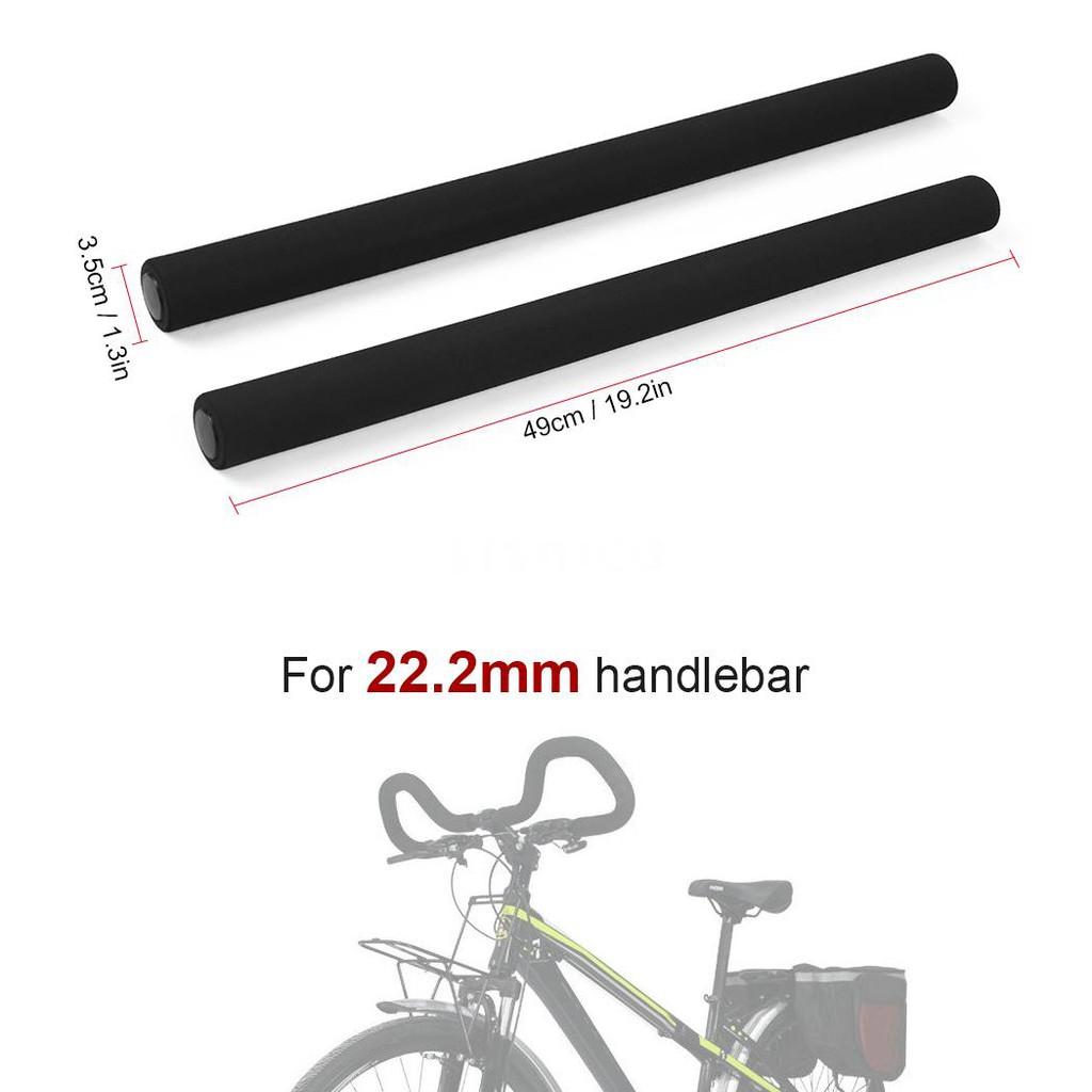 Bicycle Handlebar Cover Cycling Foam 2 pcs Bike Grip Tube Nonslip Handle Bar