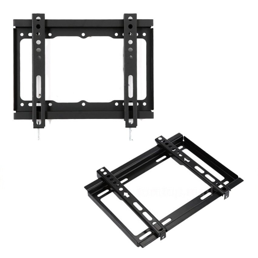 new type tv wall mount bracket for 14 42 led lcd fix shopee philippines. Black Bedroom Furniture Sets. Home Design Ideas