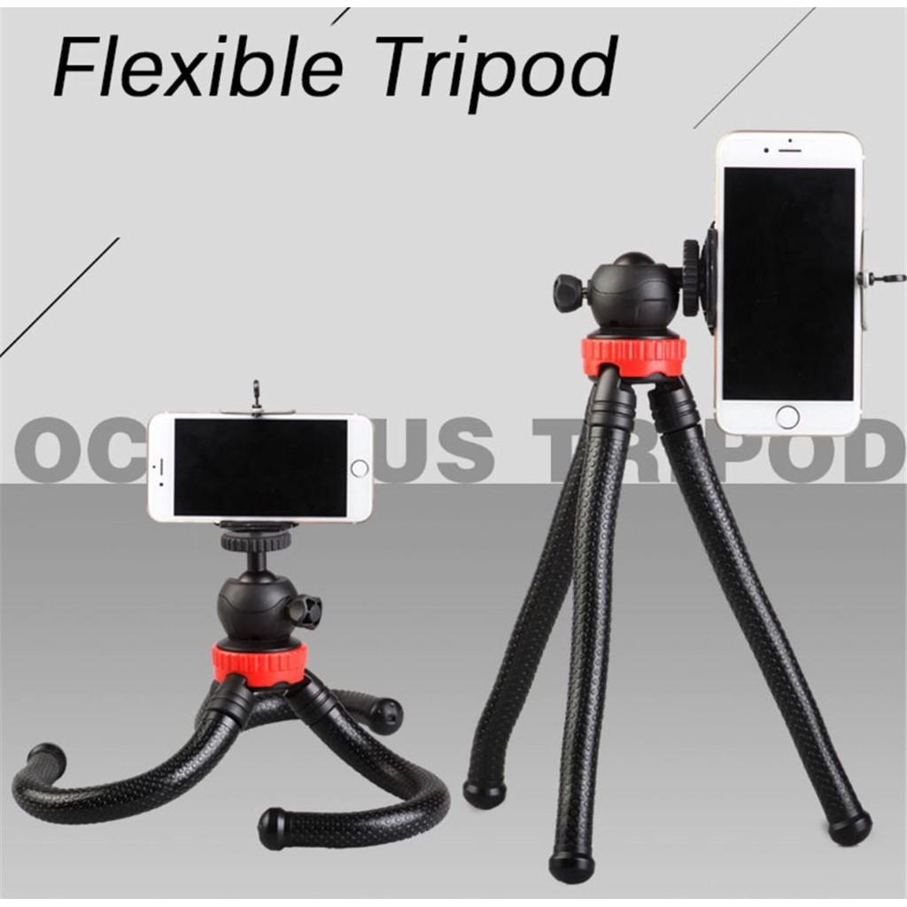 ec1b04b3043 Selfie Flexi Pod Octopus Gorilla Phone Camera Tripod Holder