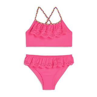 Girls Swimming Costume Bikini Tankini Two Piece Swimsuit Age 7-15 Years Primark