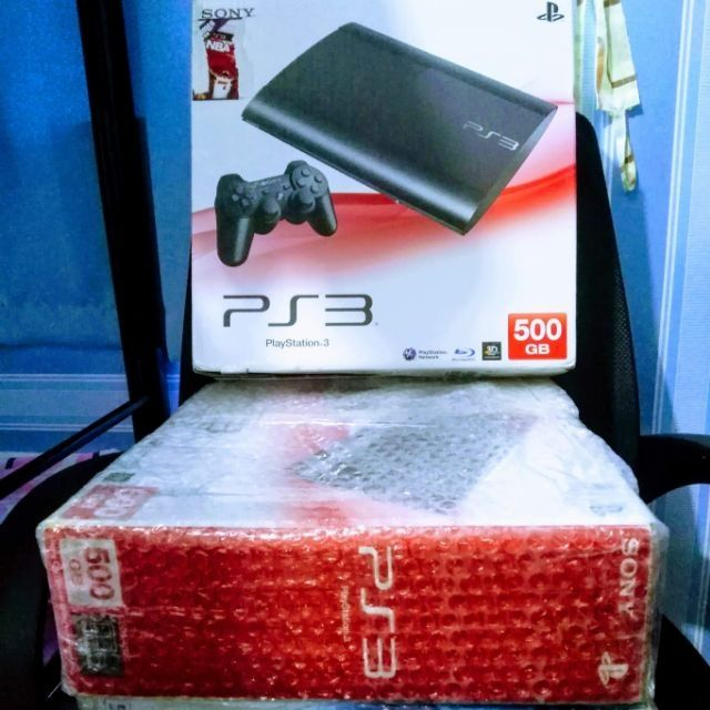 PS3 SUPERSLIM WITH FREE 30 FULL GAMES