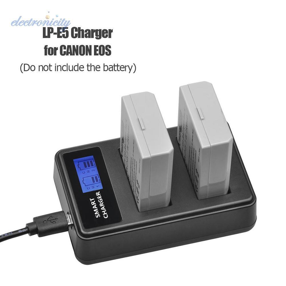 500D Ladegerät LP E5 für Canon EOS 450D 1000D