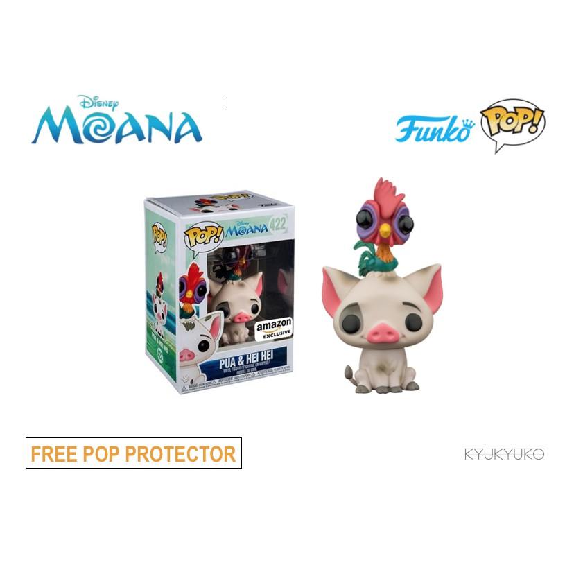 50acf847b82 Funko Pop Amazon EXCL Moana Pua and Hei Hei
