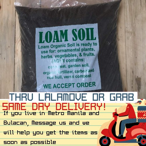 Organic Loam Soil 10kg Shopee Philippines