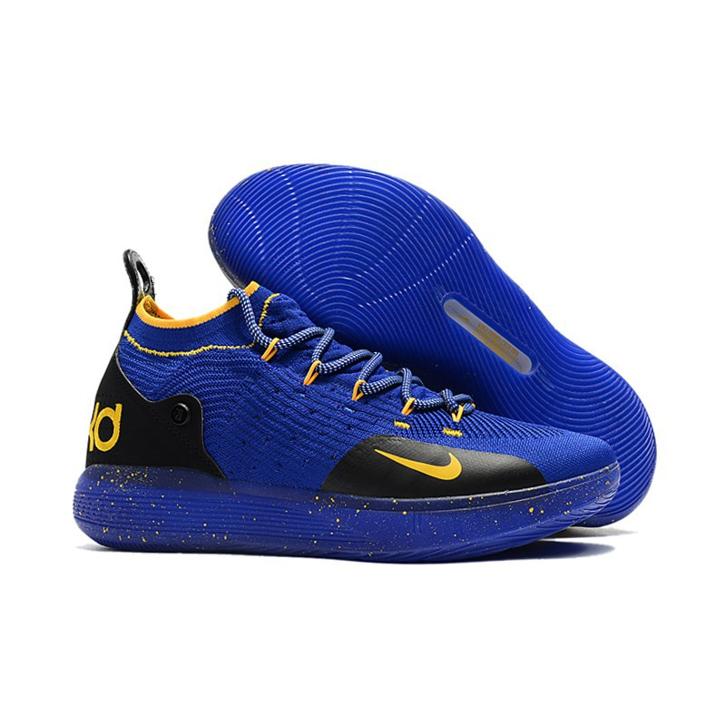 Nike Kd 11 Blue Black Yellow Shopee Philippines