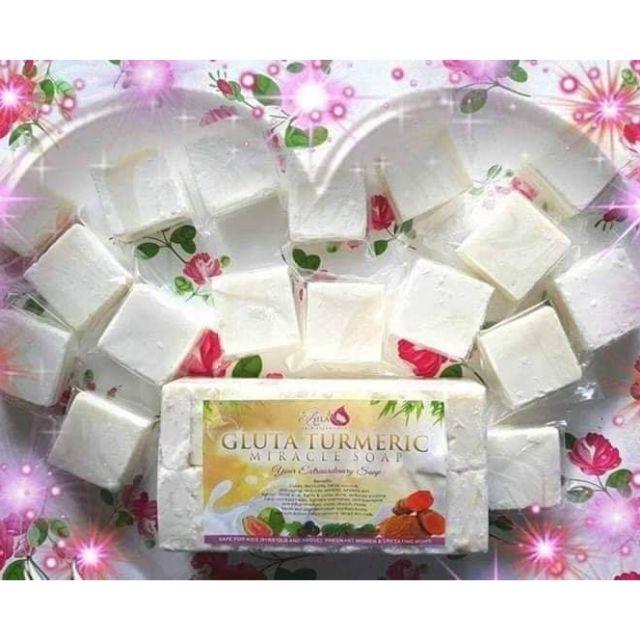 GLUTA TURMERIC MIRACLE SOAP (1kilo)