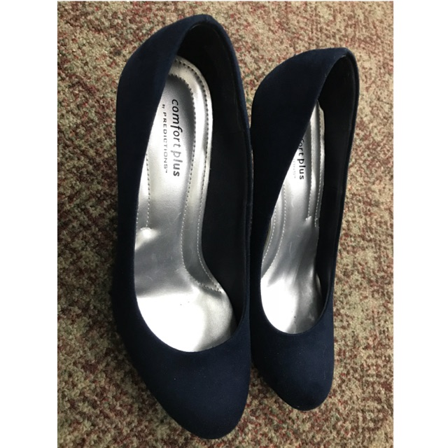 great quality new high best place Comfort Plus Navy Pumps
