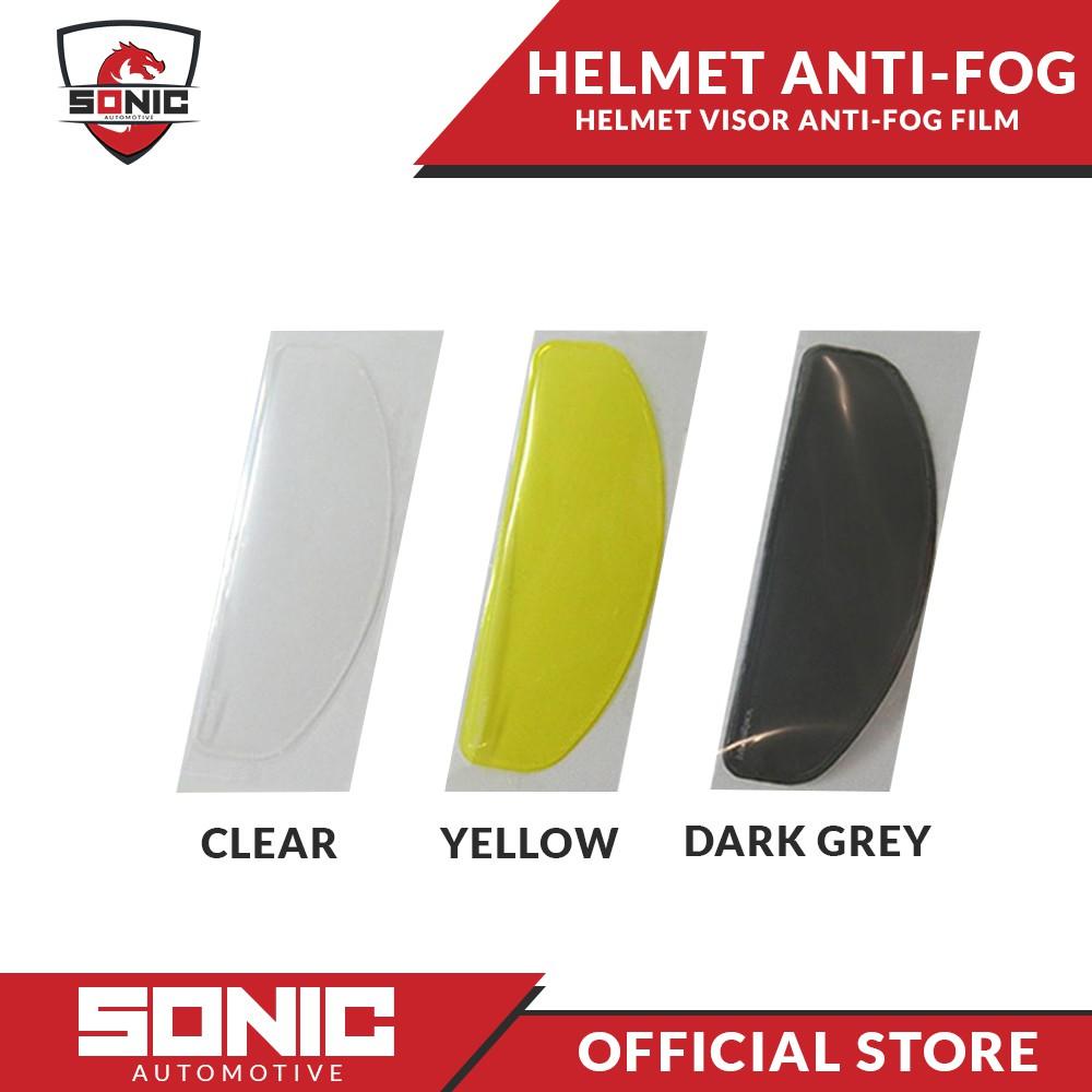 Universal Anti-fog Helmet Lens Film Visor Fog-Resistant For Motorcycles Cycling