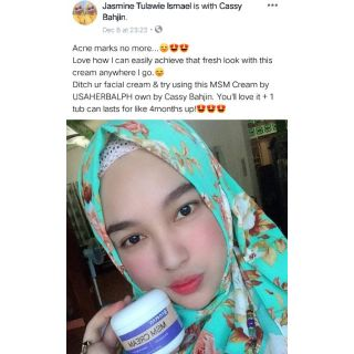 Authentic MRM MSM CREAM for ACNE | Shopee Philippines