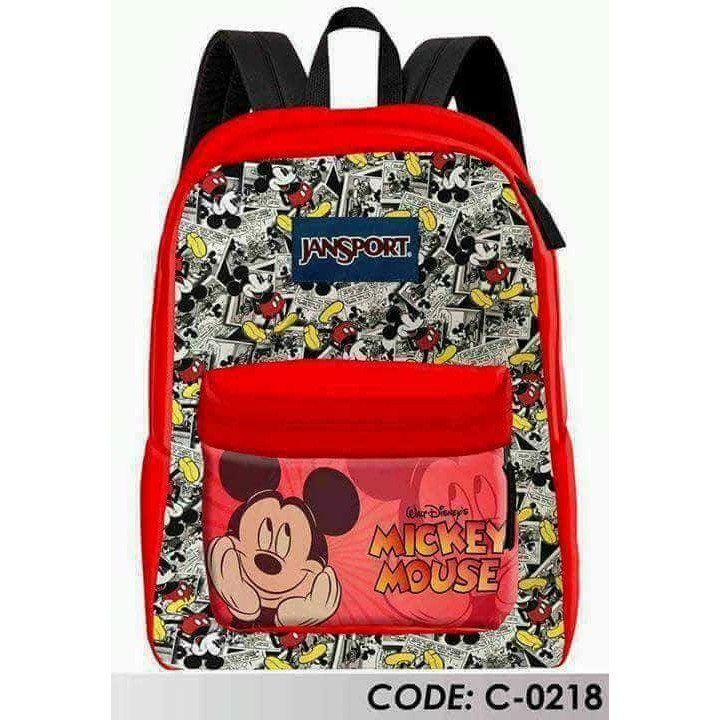 e24d39ca67b Mickey mouse jansport large