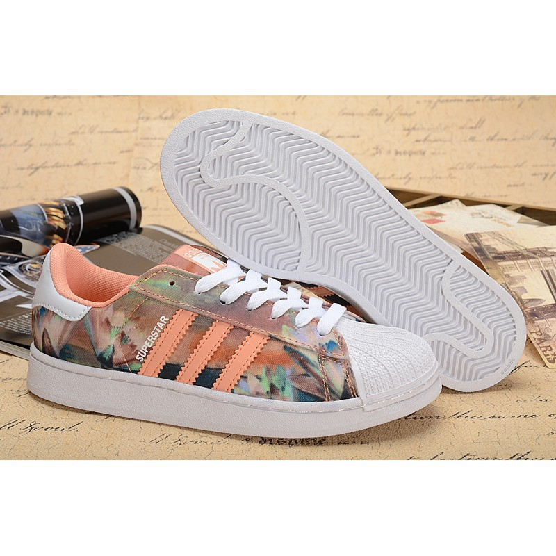 Sports shoes cheap adidas superstar 2.0 floral prin
