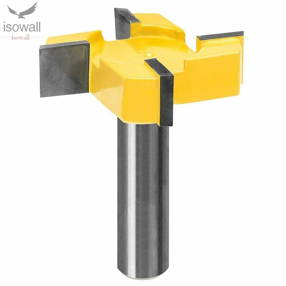 Sliver CNC Spoilboard Bit Surfacing Bit 1//4 Shank End Mill Cutters T Slot Mill Planing Tool Router Woodworking Tool