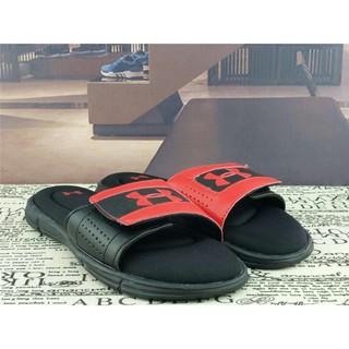 danhui333 100% Fashion Casual Original Under Armour Velcro Flip-flop Couple Red Sandals Slipper