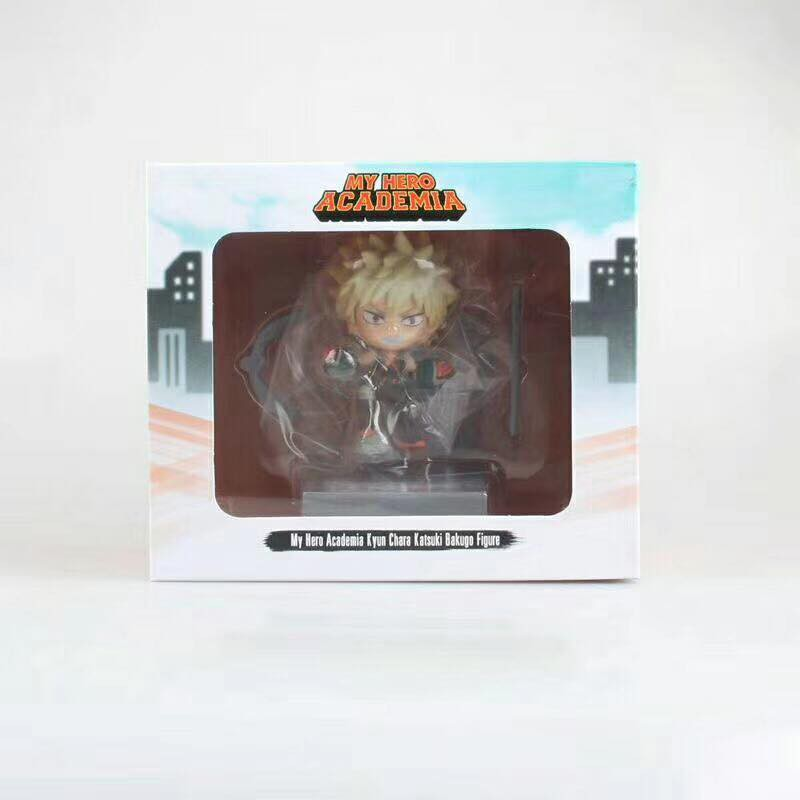 Chibi Boku no Hero Academia Katsuki Bakugo Action Figure