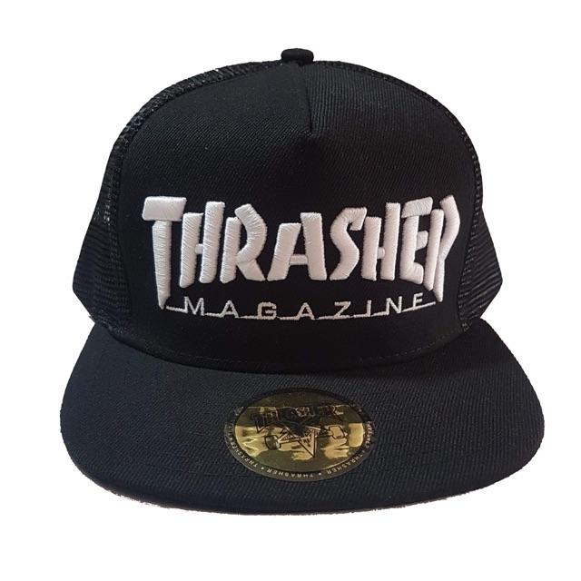 29b03c21d84 Thrasher Classics Exclusive Boarding Snapback Net Cap