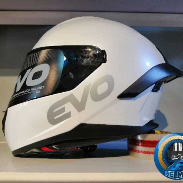 evo helmet single visor)