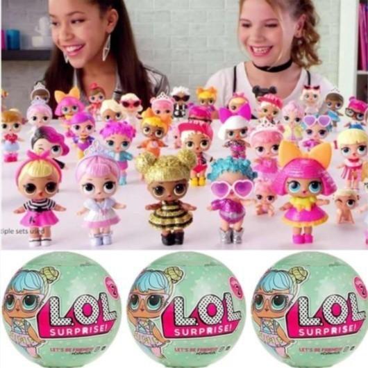 L O L Surprise Glitter Series Big Sister Tots Doll Ball Lol