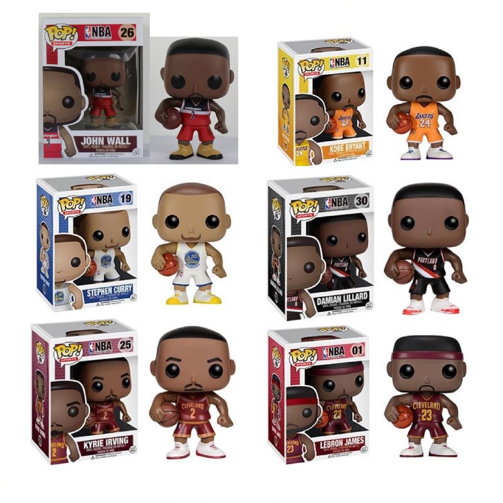 ef793d340b02 FUNKO POP Basketball star Pop Sports NBA LEBRON JAMES KOBE