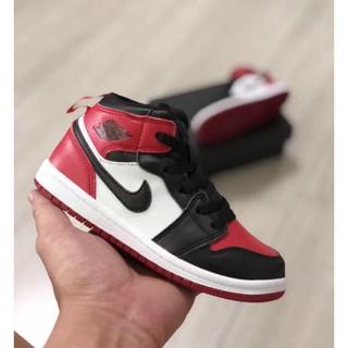 la meilleure attitude a9ebf 3d1c0 COD Original NIKE Air Jordan 1 Red Boy Shoes Teens Shoes