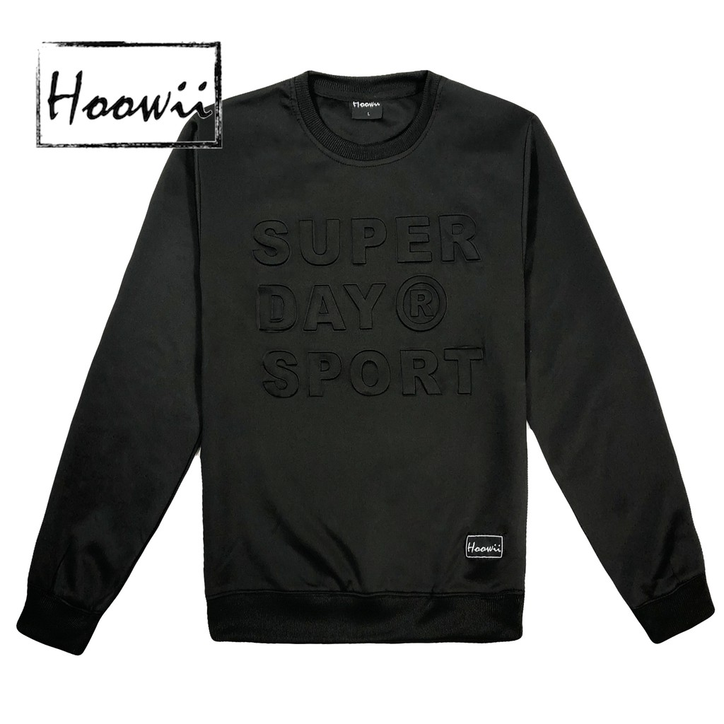HOOWII 5 Colors Unisex Lightweight Sweatshirt