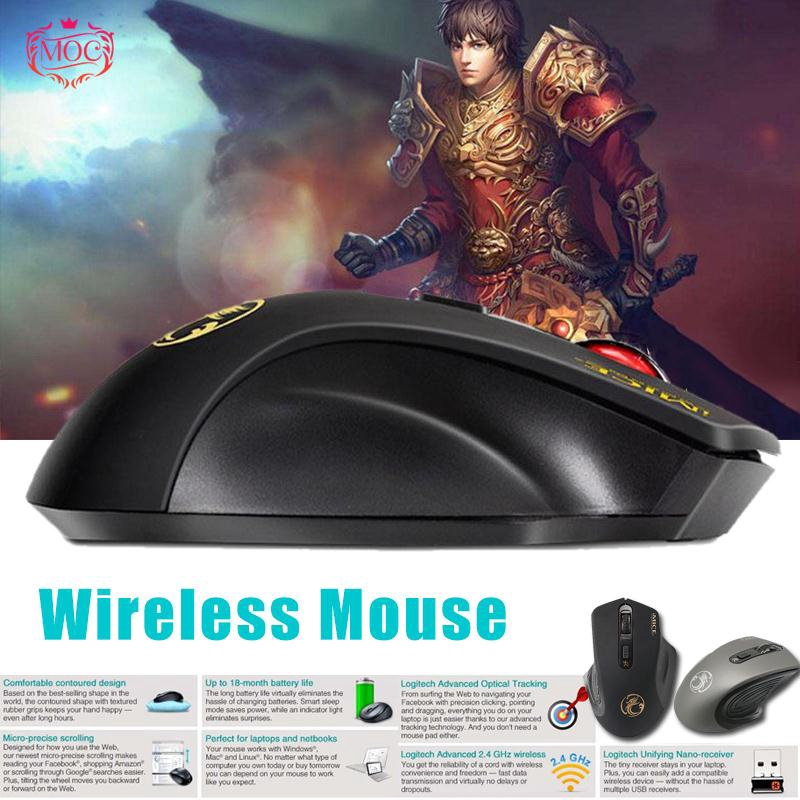 IMICE E-18002 4G Wireless Cordless Optical Gaming Mouse For | Shopee
