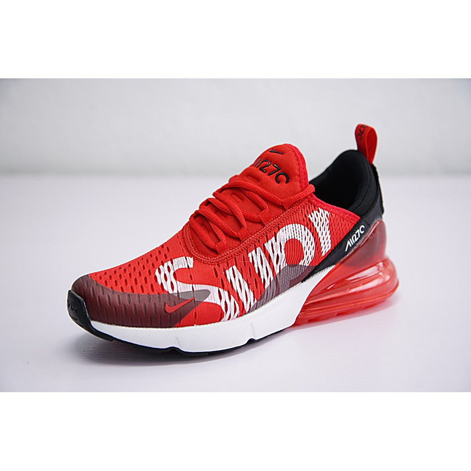 Nike Air Max 270 x Supreme Shoes Men Airmax 27c Running Shoes Sport Sneakers