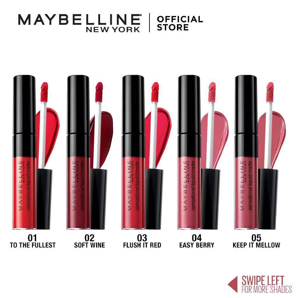 Maybelline Sensational Liquid Matte Lip Tint