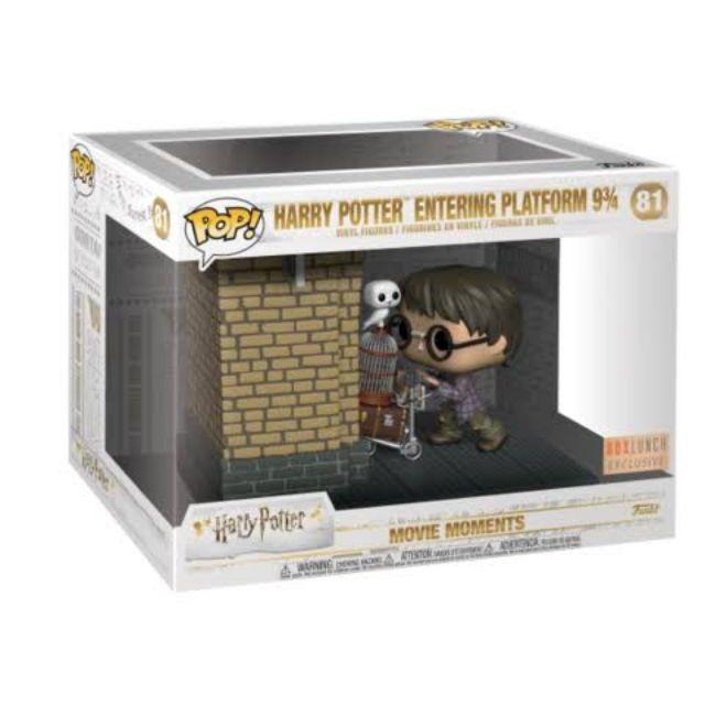 Harry Potter-entering Plateforme 9 3//4 Funko POP Figure Toy Movie Moment POP
