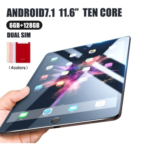 New WiFi tablet 11 6 inch 4G Android7 1 dual camera6G + 128G Spot! ! ! !