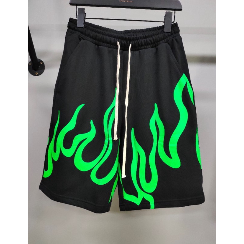 Billie Eilish Concert With Green Flame Casual Shorts Shopee Philippines
