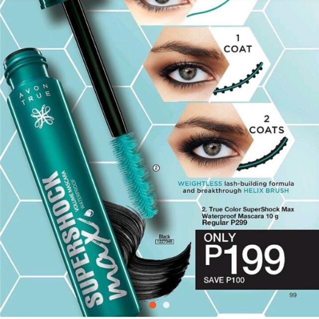 3c87e438d82 Avon True Color Supershock Max Waterproof Mascara 10g | Shopee Philippines