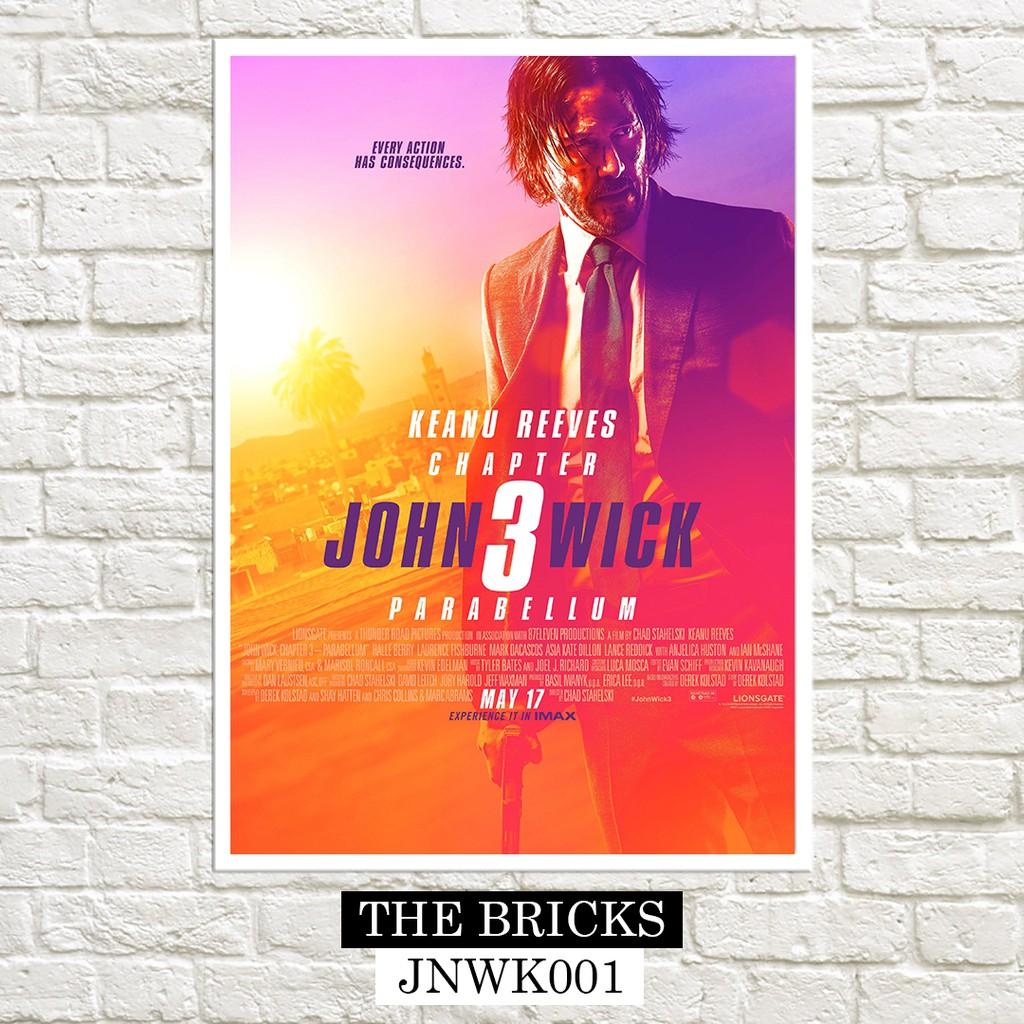 "Keanu Reeves Gun Shoot Fight Movie 14/""x19/"" Poster 015 John Wick"