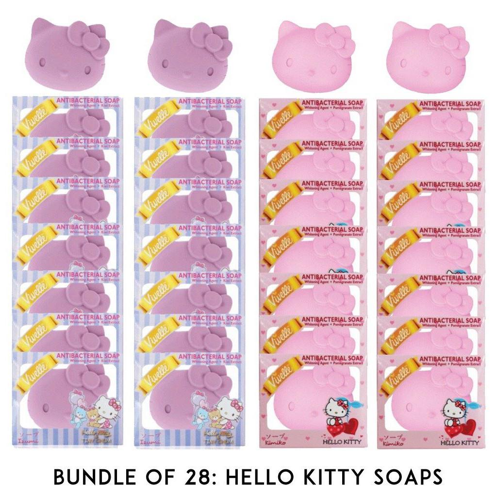 Bundle Of 28 Hello Kitty Soaps Shopee Philippines