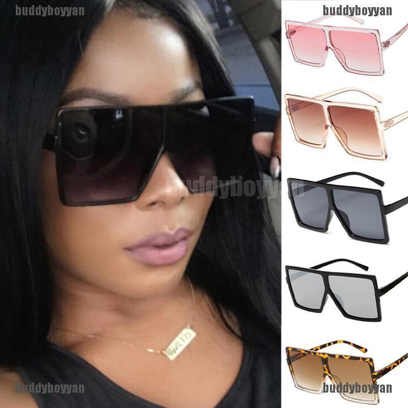 New Womens DG Sunglasses Fashion Designer Shades Square Large HOT Clear Vintage