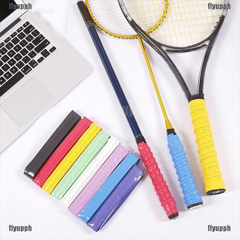 10pcs Absorb Sweat Stretchy Antiskid Badminton Tennis Squash Racquet Band Grip