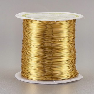18 Gauge, Copper 66 Feet Aluminum Craft Wire Jewelry Crafting Wire Bendable Metal Tarnish Resistant Copper Beading Wire for Jewelry Making Supplies and Crafting Jewelry Floral Making DIY Crafts