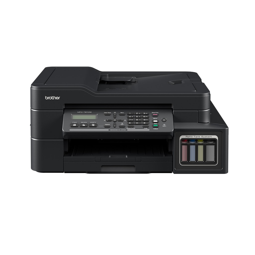 Brother Printer MFC-T810W Tank – Wifi/LAN ADF All-in-One