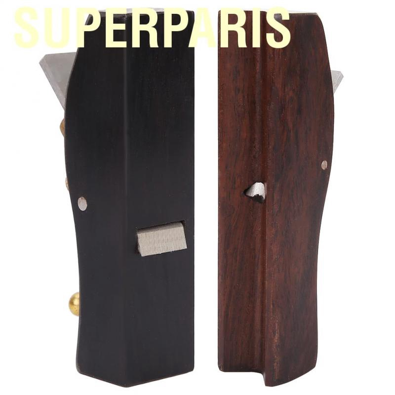 Wooden Planer Hand Plane Carpenter Plane Woodworking Planing with Ebony Wood for Carpenter Woodcraft Tool 80 mm