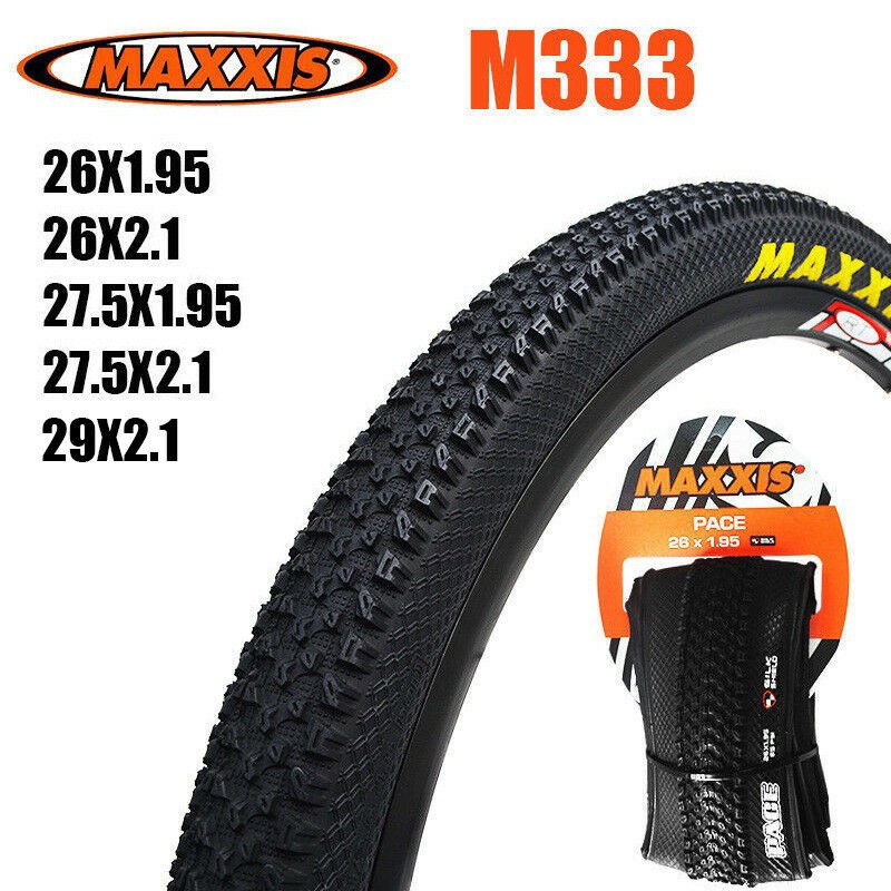 MAXXIS M333 MTB Bike Tyres Foldable Cross Country Tires 26//27.5//29/'/' 2x Pair