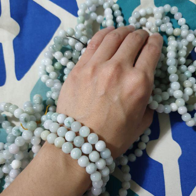 Two Jade Beads Burma FREE SHIPPING