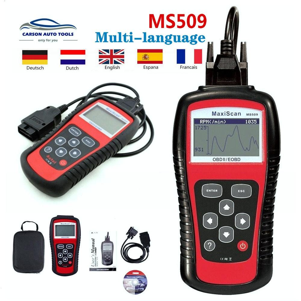 HOT! AUTEL MS509 OBD2 scanner for automobile diagnostics