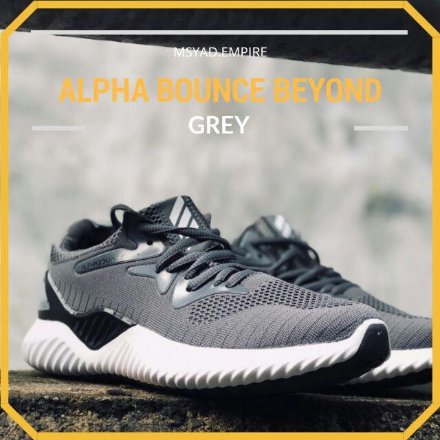627f5e7bab2 ADIDAS ALPHABOUNCE BEYOND GREY READYSTOCK